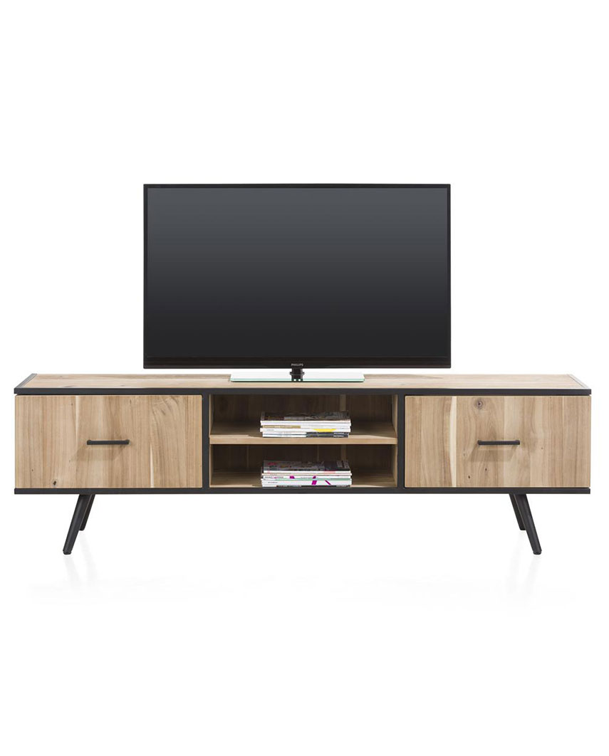tv skenkur kinna 190 cm signature. Black Bedroom Furniture Sets. Home Design Ideas